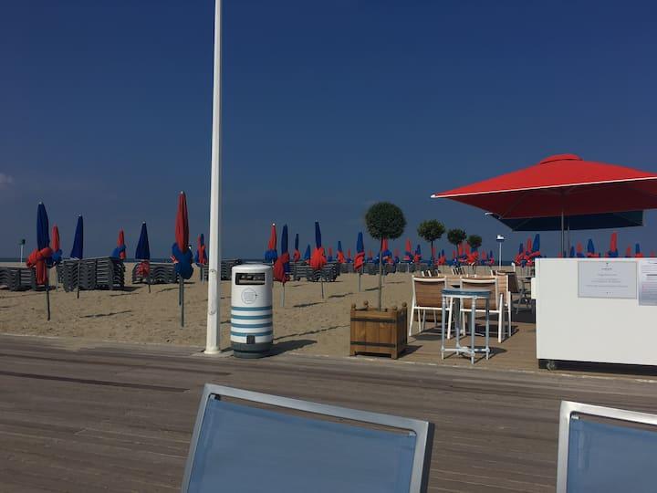 Chez vous à Deauville à deux pas de la plage