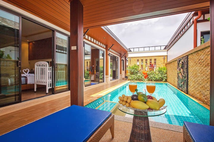 2 Bedroom Pool Villa - Rawai VIP Villas (A1) - Rawai - Casa