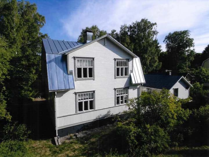 Villa Polaris Hanko - huvila Gunnarsinrannassa