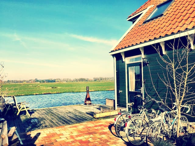 Room with a view, near Amsterdam - Broek in Waterland - บ้าน