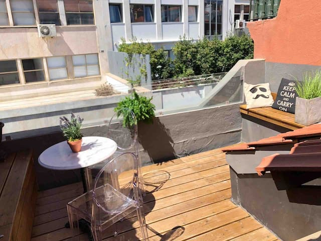 Charming Rooftop @av liberdade