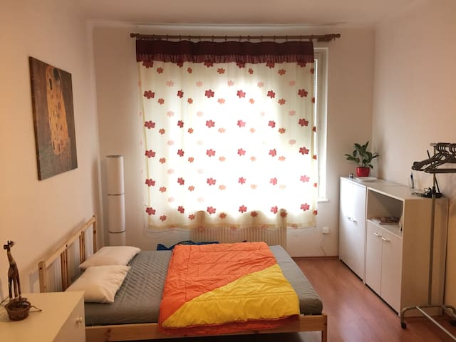 Cozy studio apartment in a lovely neigborhood - Praha - Huoneisto