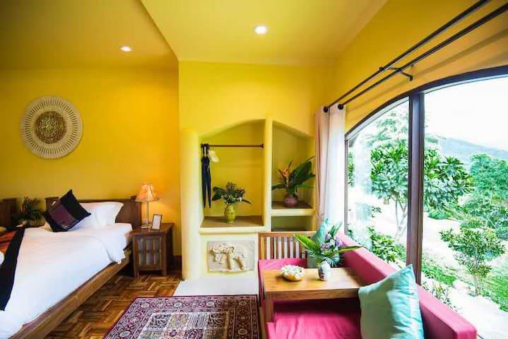 Deluxe Villa Twin/Double Bed Room