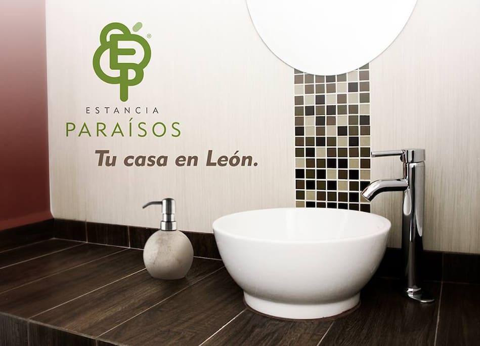 Baño privado (dentro de tu habitación).