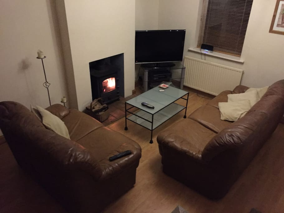 Guests cosy tv room