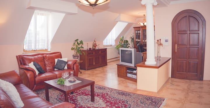 Charming historic Townhouse in center of Bardejov!