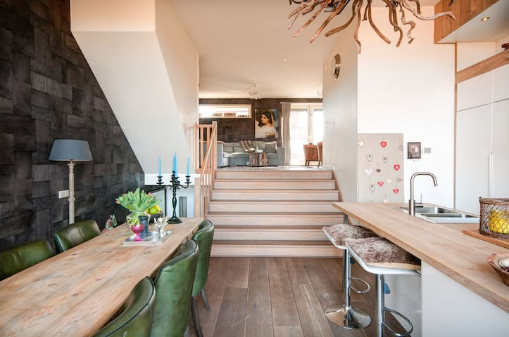 Cosy house near Amsterdam and beach