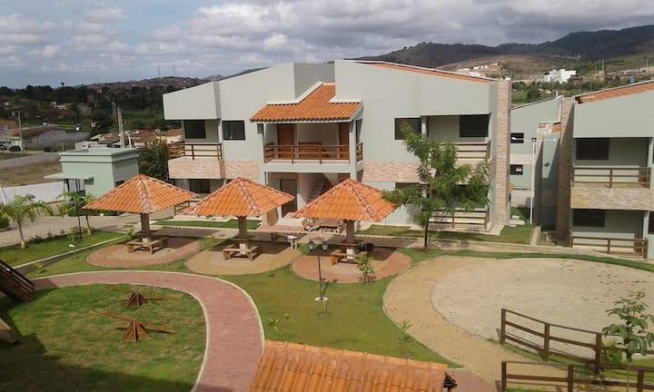 Ap Villa Natuba-3 quartos, piscina, churrasqueira