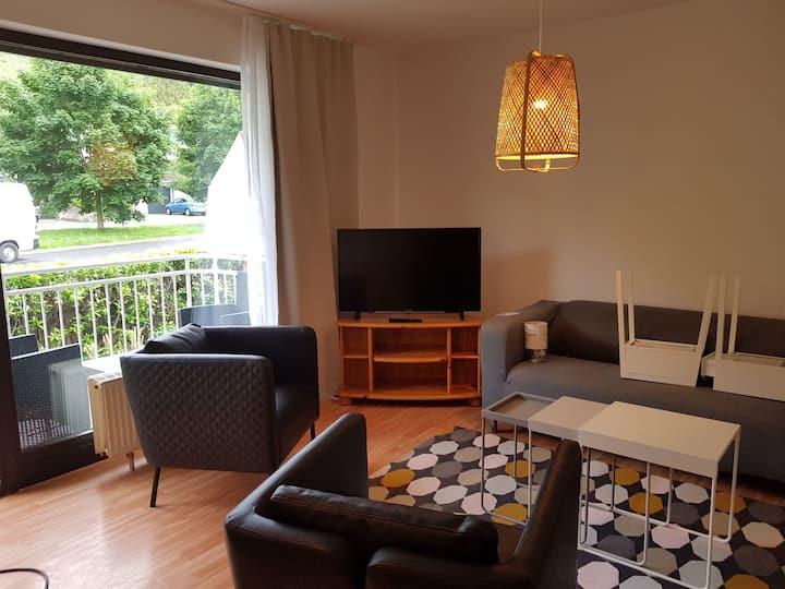 53 m2 Wohnung mit Balkon in ruhiger Lage.