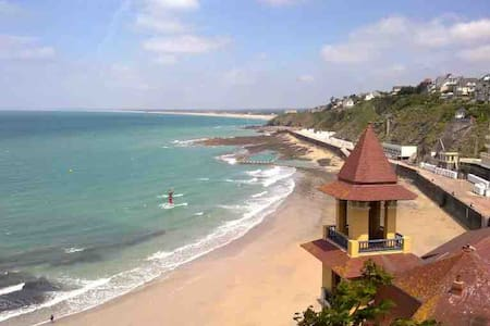 Maison deco sympa et au calme à 10 min de la plage