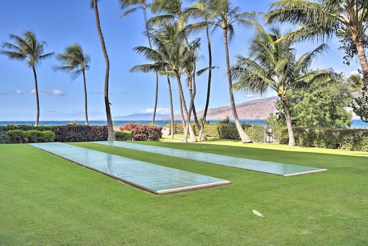Check out the on-site shuffleboard court.