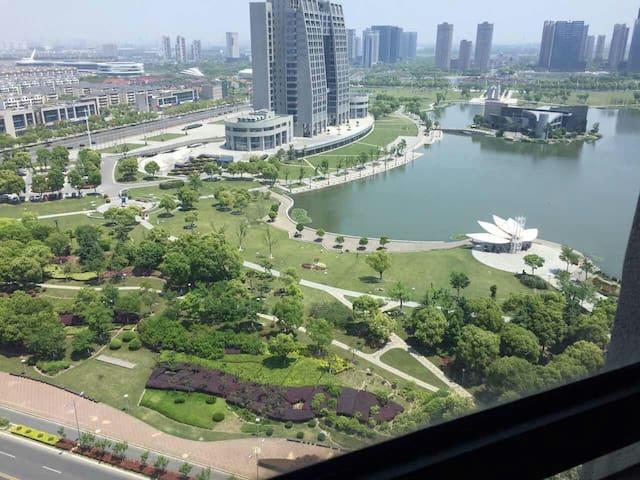 昆山市大型展会附近酒店式公寓,附近有来回上海的地铁! - Suzhou - Serviced apartment