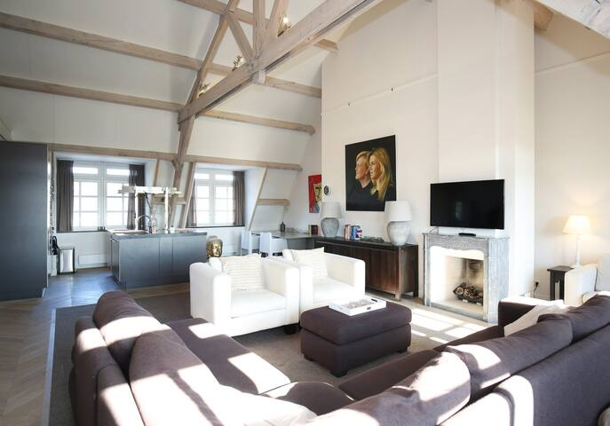 PENTHOUSE/ LOFT-9P, 15min The Hague, 30min A'dam
