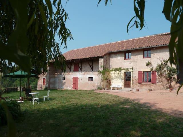 Ferme des Hauts - Saint-Bonnet-de-Joux - Hus