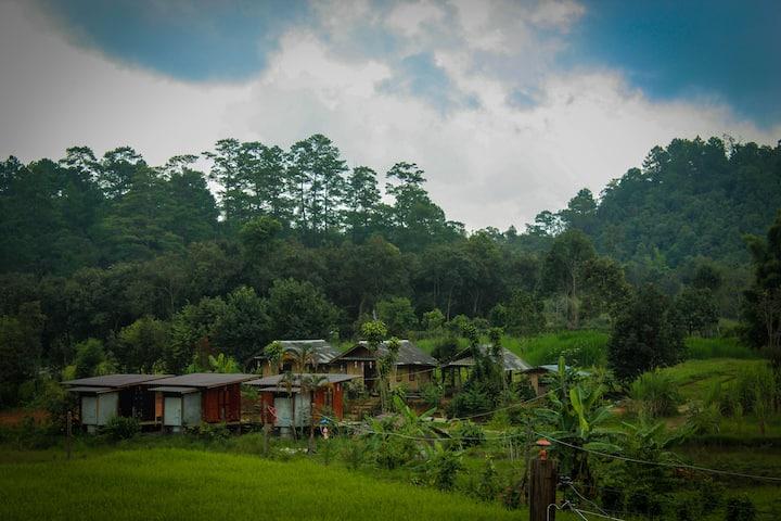 karen hill tribe homestay