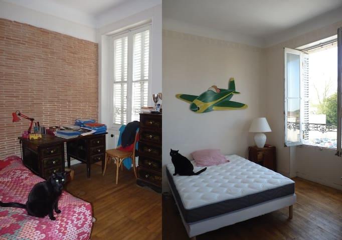 Chambres centre Surgères - Surgères - Apartamento