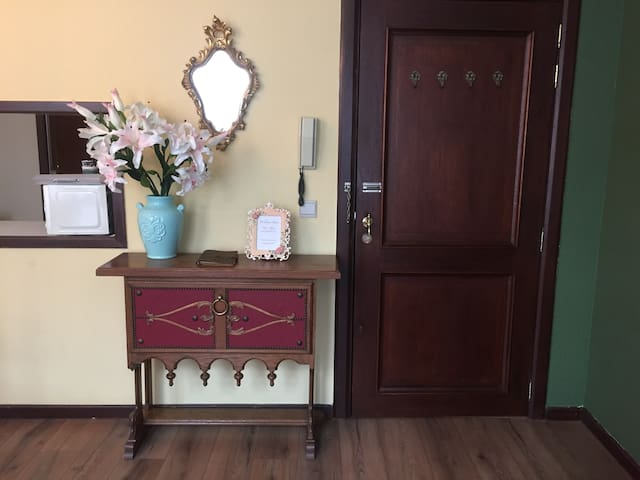 Entrance of apartment