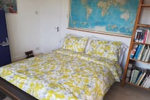 Double Bedroom and bookcase