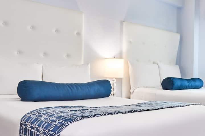 Spectacular studio on Miami Beach ( 2 beds)