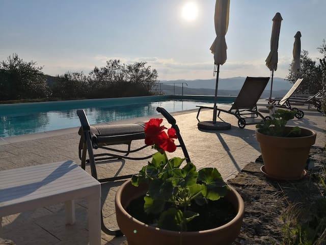 Casa del Tramonto, apartment Il Sole, Tuscany
