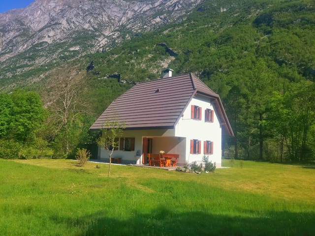 Quiet Cottage by the Soca River