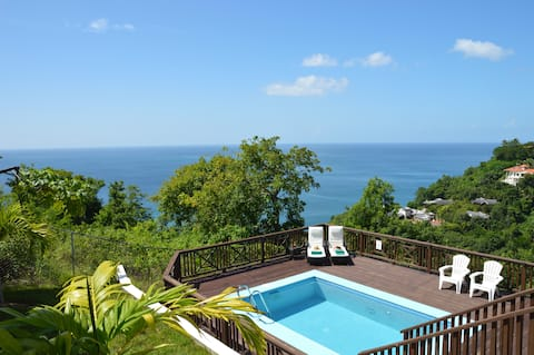 ★Pearl of Marigot entire villa & pool just for you