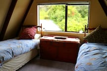 Two single beds twin room