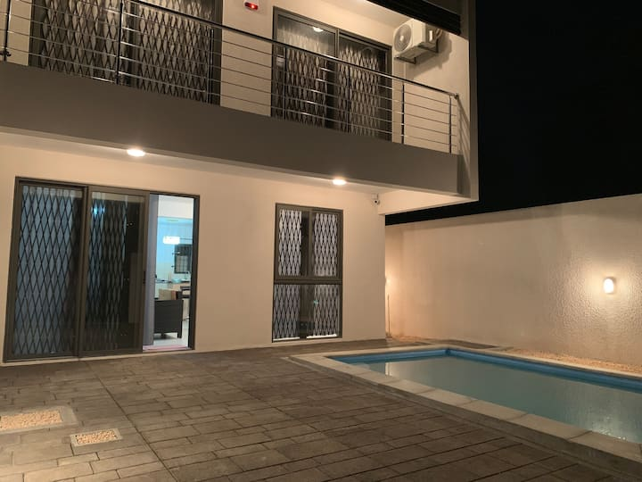 Newly built villa with private pool near the beach