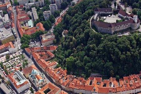 Nice apartment and free bikes - Любляна