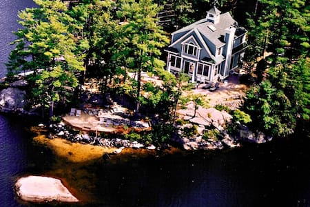 Waterfront Home, Lake Winnipesaukee, 4 bedroom - Moultonborough
