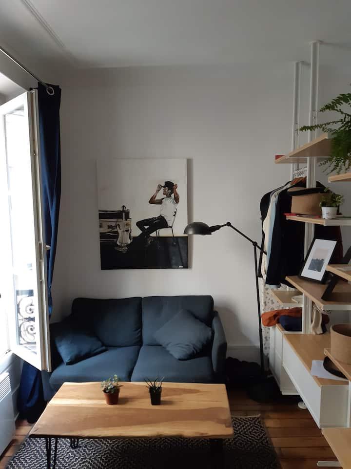 Paris: Appartement Batignolles