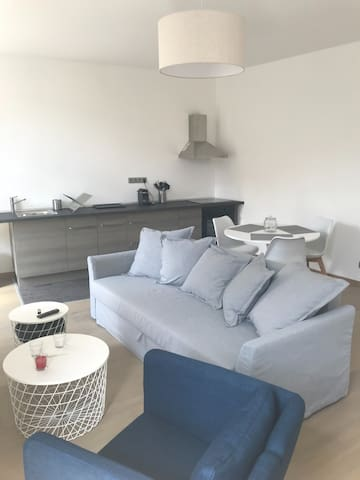 Appartement rénové 70m2 centre de Tournai