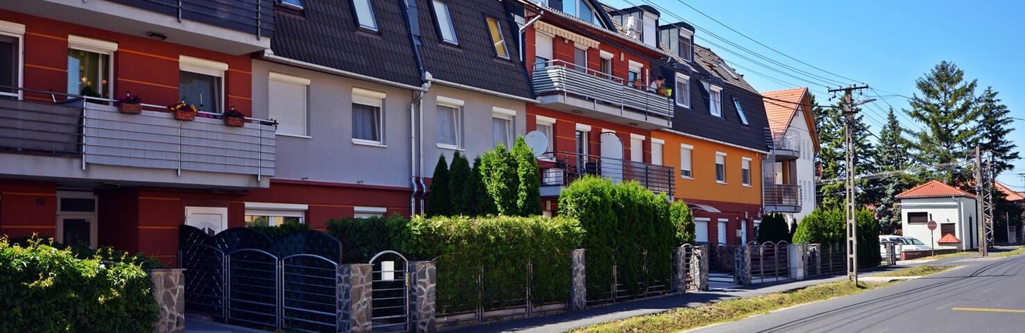 Ferienwohnung  Familienidylle mit Balkon, Klima