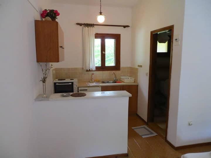 Hacienda style studios and apartments in Troulos