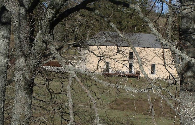 Grande demeure 12 pers loft sur pré - Saint-Denis-en-Margeride - Leilighet