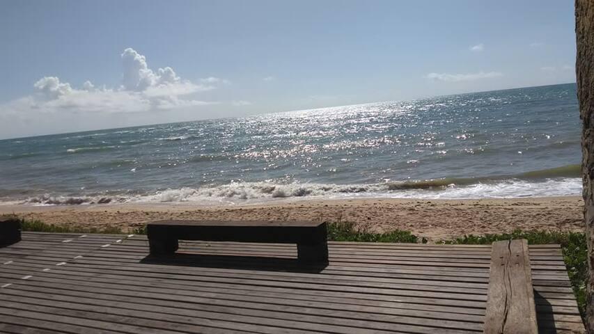 Diversão garantida no paraíso a beira mar.