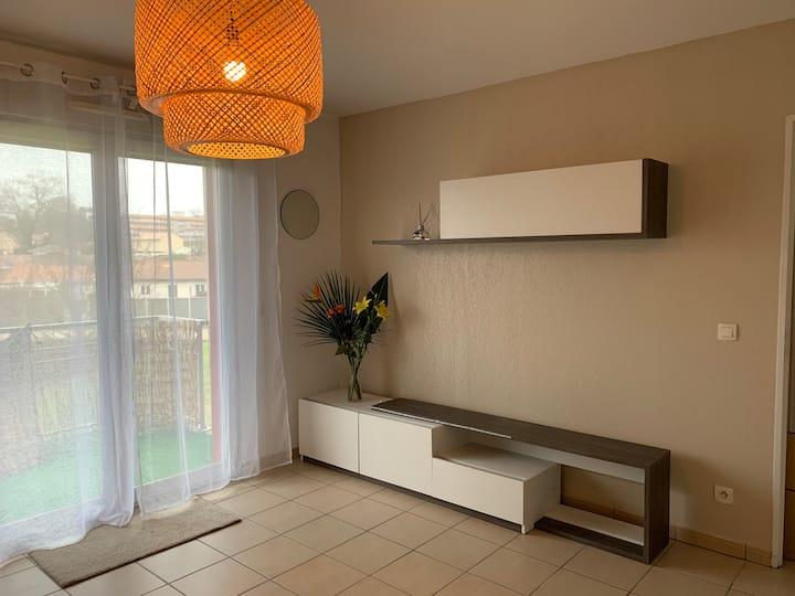 Appartement Calme à 15 min de bordeaux
