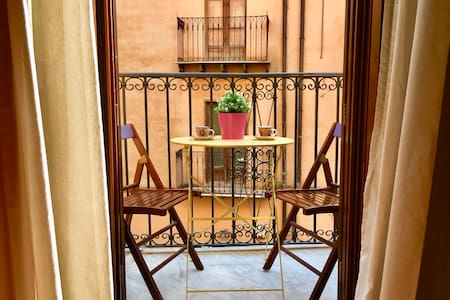 ☆Historic Center☆Balcony/HEAT/Atenea/All Transport