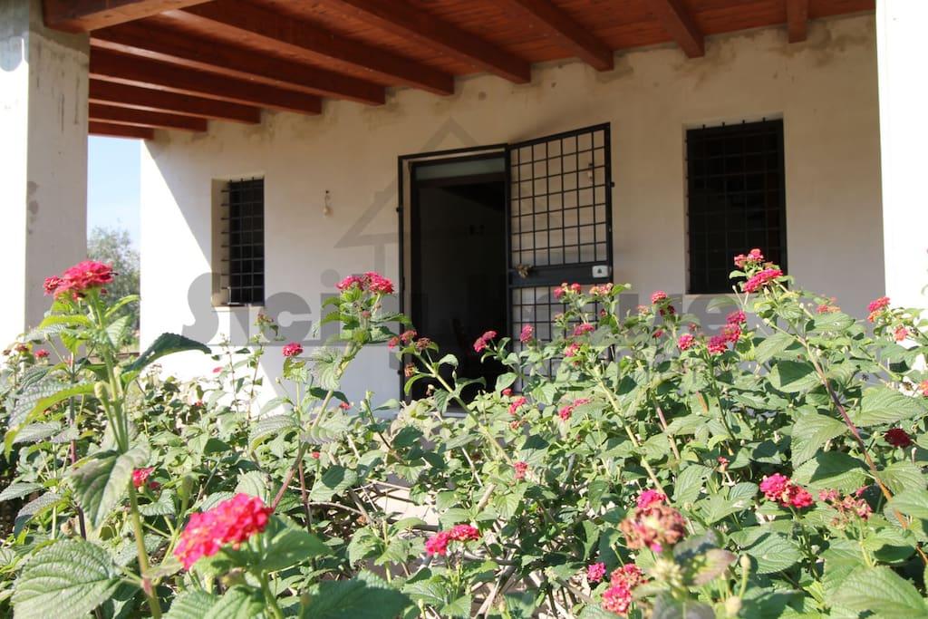 Villa sam countryside avola villas for rent in avola for Piani di case modulari con 2 master suite