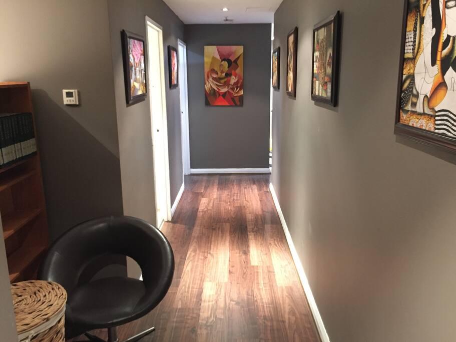 Pablo Piccaso Inspired Hallway