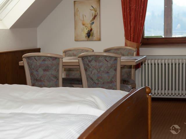Hirschenstube Gästehaus Gehri, (Waldkirch), Apartement Gästehaus - NEU - besondere Nutzung als Ferienwohnung, bzw. Wohnen auf Zeit