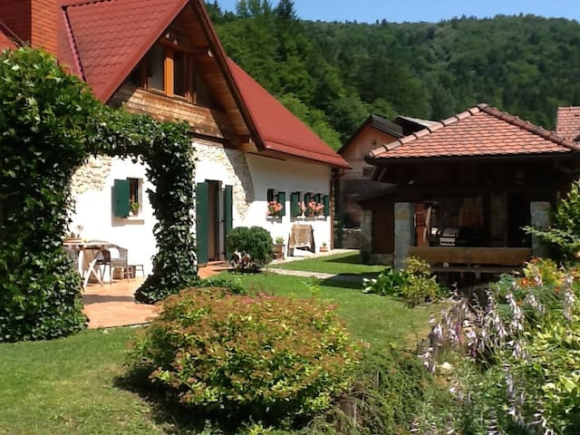 Rural romantic house with pool - Turjak - Hus