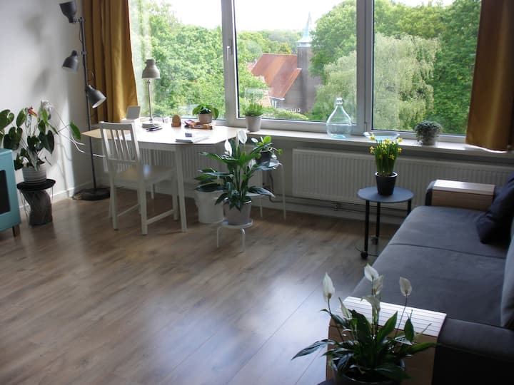 Rustig appartement in de bossen van Doorwerth