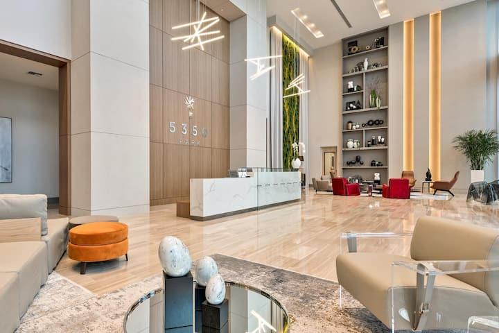 Luxury Pool View Studio with Balcony