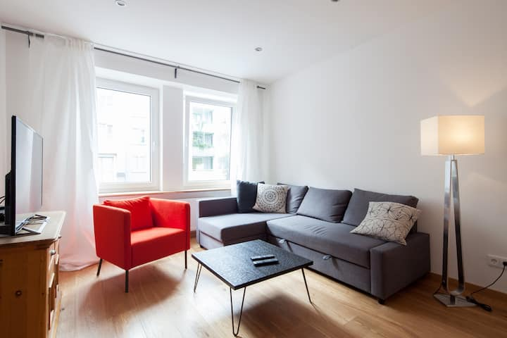 Top Apartment - Glockenbach, completly renovated!