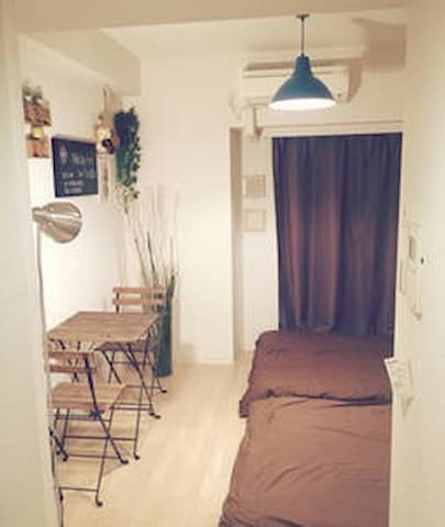 (2)8minutes walk from NAMBA station ★4people room★