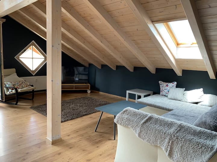 Modern Mountain Loft  - Panorama View of the Alps