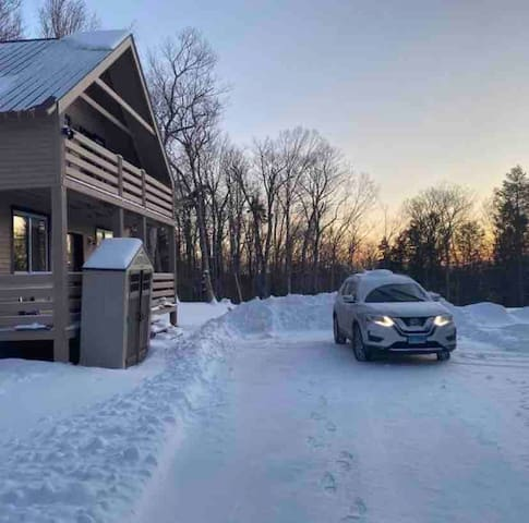 Isolated Luxury New cabin in Stratton, Mount-snow