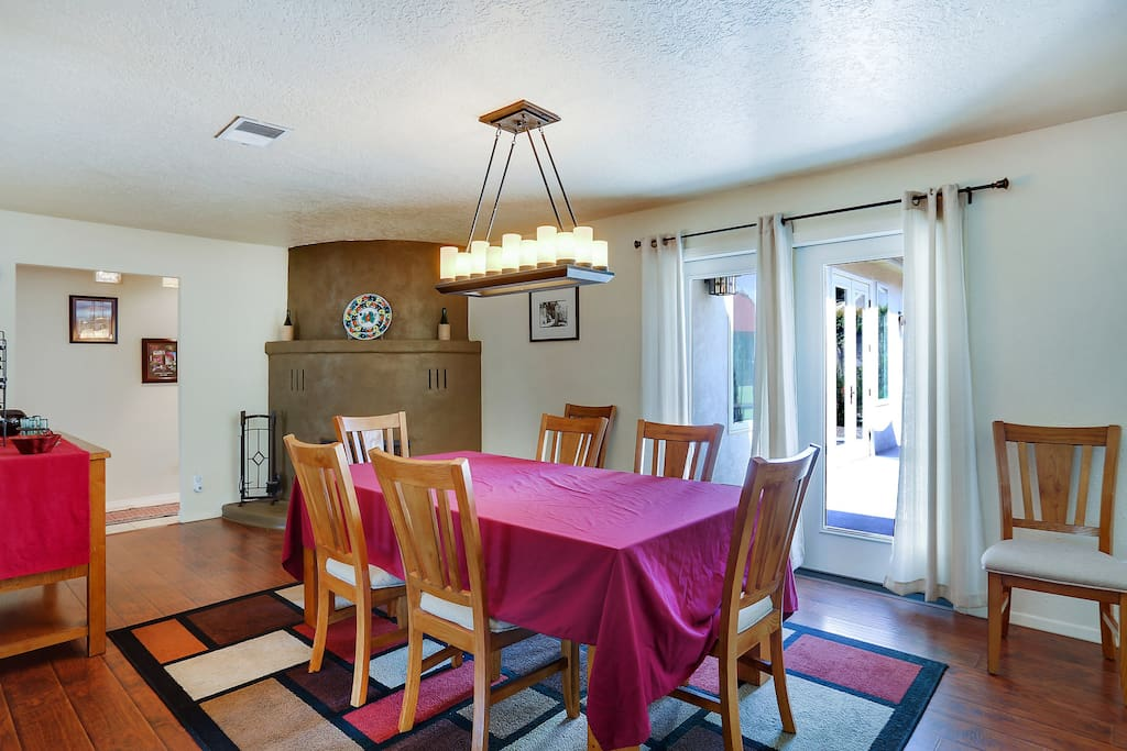 Dining room for you to gather the family and friends.