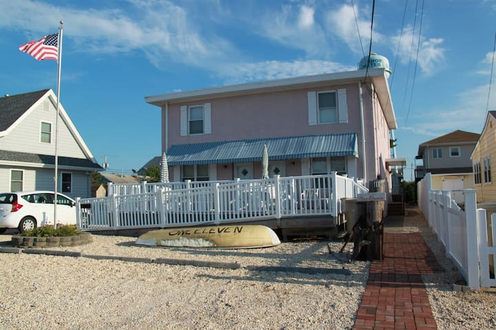 Cozy rental 1 block from ocean - Seaside Park - Casa